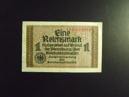 ALLEMAGNE 3ème REICH. Billet De 1 REICHSMARK 1938 / 1945 - Unclassified