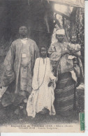EXPOSITION DE TOULOUSE 1908 - Village Noir - Famille Sénégalaise  PRIX FIXE - Ausstellungen