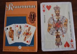 Jeu De 54 Cartes à Jouer + Joker ROMANOV N°1141 Kempinski Avec étui  Neuf Sous Blister - Russie Tsar Russe - Carte Da Gioco