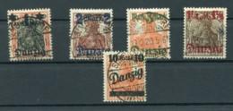 Danzig 26/29+31I STEMPEL SIMONSDORF (E9973 - Dantzig
