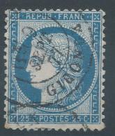 Lot N°31131   N°60, Oblit Cachet à Date De BORDEAUX ( GIRONDE ) - 1871-1875 Ceres