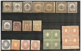 Germania/Germany/Allemagne: Lotto Antichi Stati Tedeschi, Lot Anciens Etats Allemands, Lot Old German States - Allemagne