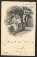 Jeune Femme Aux Seins Nus De A.L.Lacault 1904 - Illustrateurs & Photographes