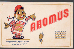 Buvard AROMUS (PPP3228) - Buvards, Protège-cahiers Illustrés