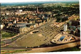 NANTES ... VUE AERIENNE SUR LES QUARTIERS DU CENTRE - Nantes