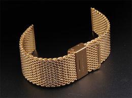 100% NEW STRAP WATCH APPLE 42MM. GOLD COLOR UNIQUE LOW PRICE - Orologi Da Polso