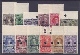 ESPAÑA/SAHARA 1939 - Edifil #13/24MTs Sin Dentar - MNH ** - Sahara Español