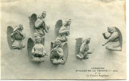 CPA 41  VENDOME STALLES DE LA TRINITE N 10 LE CONCERT ANGELIQUE - Vendome