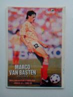 RARE MONDIAL CARD EURO 1988 UNIQUE MARCO VAN BASTEN 100% ORIGINAL - Singles