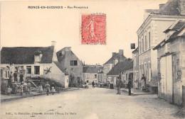 72- MONCE-EN-SAOSNOIS- RUE PRINCIPALE - France