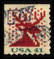 Etats-Unis / United States (Scott No.4215 - Noël / 2007 / Christmas)+ (o) P2 [Perf. 8] ATM - Verenigde Staten