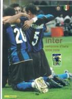 Italia 2009 Inter Campione D'italia 2008-209  Folder Ufficiale ( Valore D´emissione € 20 ) - 6. 1946-.. Republic