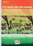 Italia 2009 Arte Rupestre Della Valle Camonica  Folder Ufficiale ( Valore D´emissione € 20 ) - 6. 1946-.. Republic