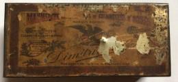 Empty    Box    TIN  Box      CIGARETTES   D' ORIENT  EGYPT   DIMITRINOS  CAIRE - Boites à Tabac Vides