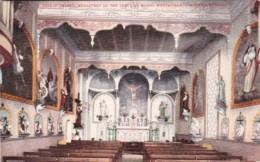 Oregon Portland Chapel Interior Monastery Of The First Blood Mon