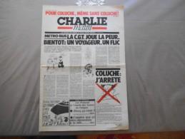 CHARLIE MATIN N°1 LUNDI 16 MARS 1981 - Zeitungen