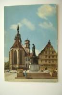 STUTTGART GERMANY     GERMANIA   USED  CARD   VIAGGIATA  COME DA FOTO - Stuttgart