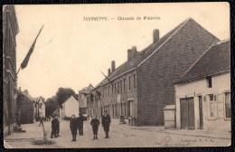 Dworp - Tourneppe. (Beersel) -- Chaussée De Waterloo. Animée. - Beersel