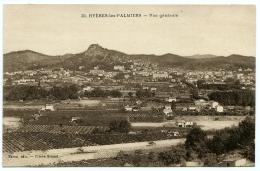 83 : HYERES LES PALMIERS - VUE GENERALE - Hyeres