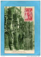 MARCOPHILIE-N°401  Rapatriés D´espagne +-sur Cpa - Oblitération Aout 1938-a Circulé - Marcophilie (Lettres)