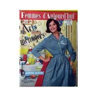 Femmes D'aujourd'hui N°826 Arts Ménagers - Mode