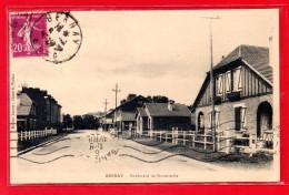 27-CPA BERNAY - BOULEVARD DE NORMANDIE - Bernay
