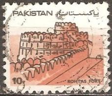 Pakistan - 1984 - Fort - YT 606 Oblitéré - Pakistan