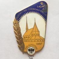 Medal / Plaque (Plakette) PL000022 - Rally (Rallye) Germany (Deutschland) Ruperti - Inn - Chiemgau ADAC 1967 - Automobile - F1