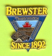 Pin Brewster Since 1892 Transportation - 3R14 - Trasporti