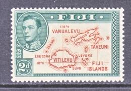 FIJI  120     **   MAP - Fiji (...-1970)
