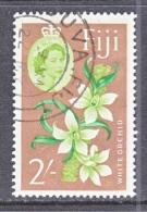 FIJI  184     (o)   FLOWERS   ORCHIDS - Fiji (...-1970)
