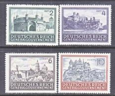 German Occupation Poland N 100-03    * - Occupation 1938-45