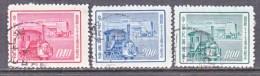 CHINA  1140-42   (o)   TRAIN - Used Stamps