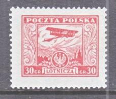 POLAND  C8  *   AERO - Unused Stamps