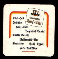 BIERDECKEL / BEER MAT / SOUS-BOCK: Hauf Bier - Sous-bocks