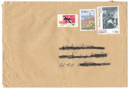 FRANCIA - France - 2009 - Fête Du Timbre + Menton Alpes Maritime + Honoré Daumier - Viaggiata Da Gannat Per La Calott... - Francia