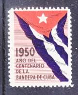 CUBA  ANO  CENTENARIO  DE LA  BANDERA   **   FLAG - Unused Stamps