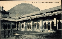 Cp Saint Jean De Maurienne Savoie, Le Cloître, Kloster, Innenhof - France