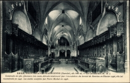 Cp Saint Jean De Maurienne Savoie, La Cathédrale, Kathedrale Von Innen - France