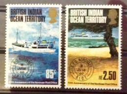BIOT 1974 MH*  # 57/58 - British Indian Ocean Territory (BIOT)