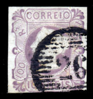 !■■■■■ds■■ Portugal 1853 AF#4ø Qween Maria II 100 Réis RRR READ 3 SCANS (x1080) - 1853 : D.Maria