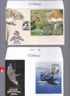 "Peru FDC Penguin Prehistoric Animals 2013 ""B"" - Peru"