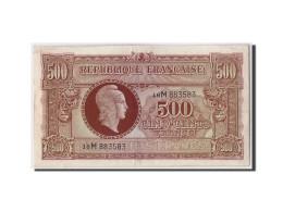 France, 500 Francs Marianne, Non Daté (1945), KM:106, Fayette:11.2, TTB+ - Tesoro