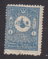 Turkey, Scott #113, Mint Hinged, Tughra, Issued 1901 - Ungebraucht