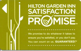 Hilton Garden Hotel Room Key Card