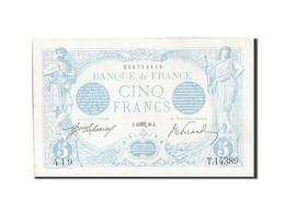 France, 5 Francs, 5 F 1912-1917 ''Bleu'', 1916, 1916-10-13, KM:70, SUP, Fayet... - 1871-1952 Anciens Francs Circulés Au XXème