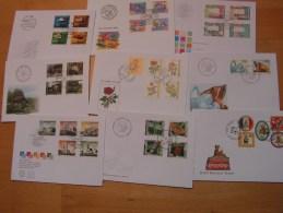 == Schweíz 9 FDC Lot Modern .. Bis 2003 - Briefmarken