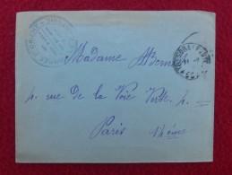 CACHET TRESOR ET POSTES ARMEE D ORIENT 36 REGIMENT D ARTILLERIE LE CAPITAINE SUR LETTRE - Marcophilie (Lettres)