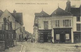 CHATILLON-sur-LOIRE - Rue De Chambon -ede. L. Cour - Chatillon Sur Loire