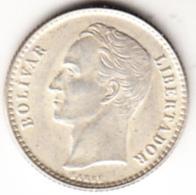 VENEZUELA 1954. 50 CENTIMOS.PLATA  .TIPO BOLIVAR.NUEVA SIN CIRCULAR   CN 4508 - Venezuela